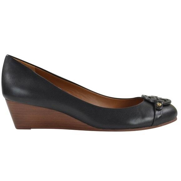 55f1b690b2f0dd Tory Burch Mini Miller 45MM Low Heels Wedge Shoes.  M 5a889e9050687cb2cad0c1d5